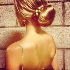 #Bun #Braid #HairStyle