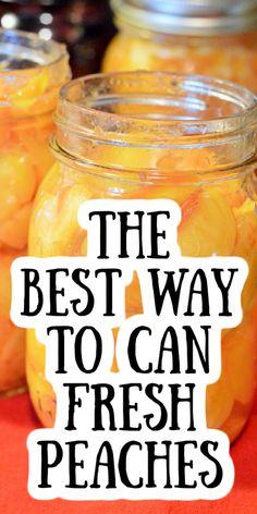 Can Peaches Recipes, Fresh Peach Recipes, Jam Recipes, Cooking Recipes, Canning Peach Recipes, Bacon Recipes, Cooking Food, Healthy Recipes, Marmalade