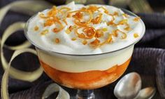 Orange sherry trifle recipe from Chef Claude Bosi. Sweet Desserts, No Bake Desserts, Dessert Recipes, Sherry Trifle Recipe, Best Chef, Christmas Pudding, Food And Drink, Favorite Recipes, Baking