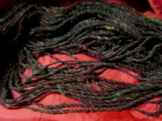 home raised hand worked handspun farm blend by njynotjustyarns