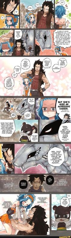 Metallicana and gajevy Fairy Tail, Gajevy by sketchy ❤ flavor Gale Fairy Tail, Fairy Tail Art, Fairy Tail Guild, Fairy Tail Ships, Fairy Tales, Fairy Tail Nashi, Anime Fairy, Gajeel Et Levy, Fairy Tail Comics