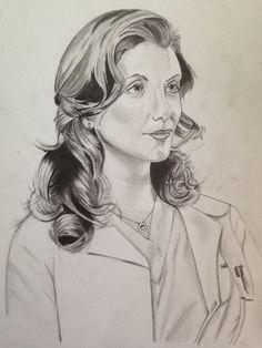 My own draw of Addison Montgomery