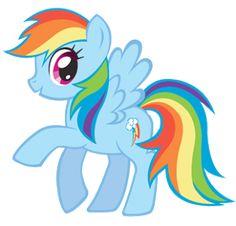 My Little Pony Cores Fortes – Kit Completo com molduras para convites, rótulos para guloseimas, lembrancinhas e imagens! | Fazendo a Nossa FestaFazendo a Nossa Festa