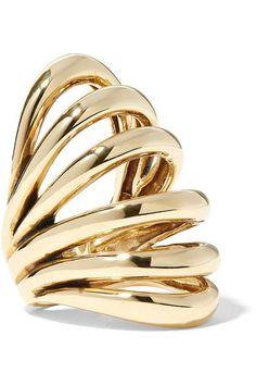 Lisa Eisner - Insolare Bronze Ring - Gold - 6