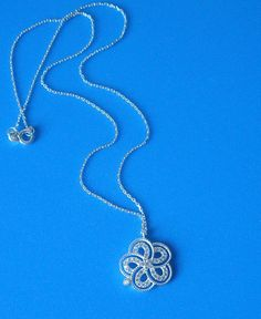 925 Sterling Silver Unique  Zirconia Swirl Necklace