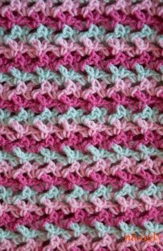 The Loopy Love Blanket is so fun to make! The pattern is easy to memorize, the stitches just fly by, and the end result looks way more complicated than it should. And in 3 colors, you can change colors every row and never have to cut the yarn! I made this pattern in the baby [...]