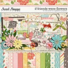 If Friends Were Flowers by Sugarplum Paperie & Zoe Pearn. $8.99