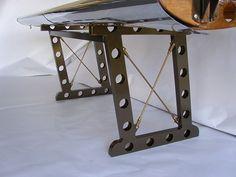 This is a custom aircraft vintage Bi plane desk we do ship worldwide