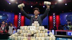 Winner rakes in $8 million as the World Series of Poker champ