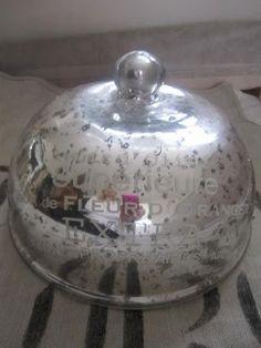 mercury glass bell jar