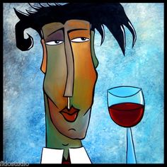 About Time Original Abstract Huge Modern Art Pop Face Painting by FIDOSTUDIO   eBay