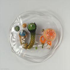 Ji-hye Lee - brooch Swamp 2 2011, Sculpey, silicone, silver 110 x 107 x 30 mm - South Korea, Seoul, Kookmin University