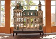 french chateau birdhouse - Life after the 1/6 scale dollhouse - Gallery - The Greenleaf Miniature Community
