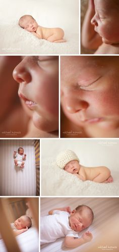 Newborn Photographer - Michael Kormos, on location newborn photography that's candid, original, and fun!
