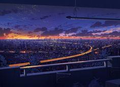 黄昏のカントリーロード / Artist: http://www.pixiv.net/member.php?id=810305