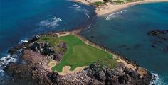 """Pacifico Golf Course, Hole """"Tale of Whale"""", Jack Nicklaus Design, Punta Mita Riviera Nayarit, Mexico Puerto Vallarta, Mexico Resorts, Beach Resorts, Hotels And Resorts, Punta Mita Mexico, Reserva Natural, Only Play, Tropical Landscaping, Four Seasons Hotel"""
