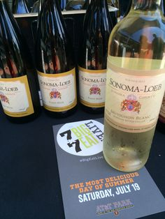 Debut of our Sauvignon Blanc AT&T Park