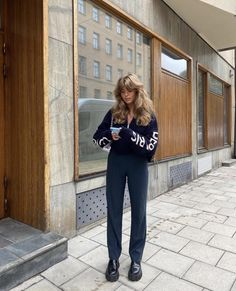 Uni Outfits, Mode Outfits, Retro Outfits, Fall Outfits, Casual Outfits, Fashion Outfits, Womens Fashion, Fashion Trends, Style Invierno