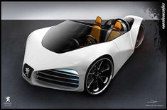 Look Uber Cool in the 'Peugeot Velocite' Eco Concept Car #eco #vehicles trendhunter.com