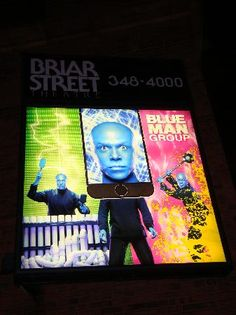 BLUE MAN GROUP/CHICAGO ADDRESS 3133 N. HALSTED CHICAGOIL60657 BOX OFFICE (773) 348-4000