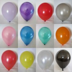 "12"" Latex Metallic Pearlised Quality Party Birthday Wedding Balloons in Home, Furniture & DIY, Celebrations & Occasions, Party Supplies 