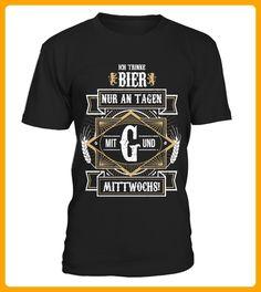 Ich trinke nur an Tagen mit G - Oktoberfest shirts (*Partner-Link)