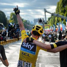 Another victory for Chris Froome TDF2015