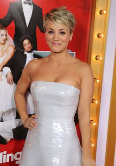 Women We Love: Kaley Kuoco Photos) California native Kaley Cuoco rose to fame on the sitcom 8 Simple Rules as Bridget Hennessy, appearing opposite the late John Ritter. John Ritter, Johnny Galecki, Lifetime Movies, Dance Choreography Videos, Kaley Cuoco, The Duff, Our Love, Strapless Dress Formal, Sexy Women