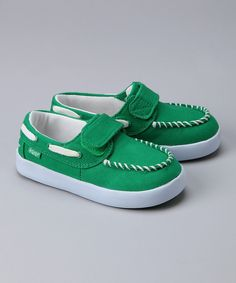 Take a look at this Keep Green Benten Boat Shoe on zulily today!