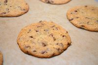 Thin, Crispy Chocolate Chip cookies - The Food We Eat