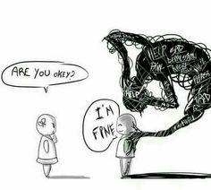 I'm sure, I'm fine