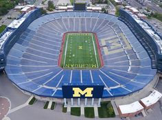 The Big House  University of Michigan Stadium in Ann Arbor