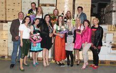Die sechs Gewinnerinnen des Castings zur Wahl der Miss Weinviertel 2012 (Foto: (c) Wein4tlerin)