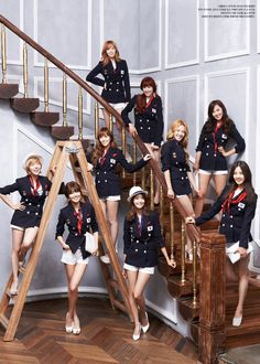 Girls Generation cheers for the Olympics!