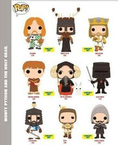 Monty Python and the Holy Grail - Funko Pop's || SO much YES!