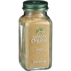 Simply Organic Ginger Root - Organic - Ground - 1.64 oz - Enjoyed in cuisines the world over for its warm, spicy-sweet aroma and flavor, ginger complements both sweet (think gingerbread ) and savory (think stir fry ) dishes. Its available in whole root, cut and sifted, powdered, and crystallized, so you can choose the perfect form for your perfect dish. Botanical Name: Zingiber officinale RoscoeProduct Notes: A-grade, peeled and unsulfited organic ginger root with a spicy sweet flavor and…