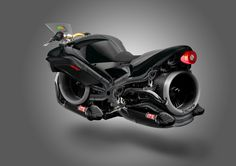 The Triumph Hover-Bike Concept: a possible future for motorcycling? Cars And Motorcycles, Concept Motorcycles, Custom Motorcycles, Custom Bikes, Futuristic Technology, Futuristic Cars, Futuristic Vehicles, Hover Bike, Hover Car