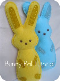 the split stitch: Spring-time Eggstravaganza: Bunny Pal Sewing Pattern and Tutorial.