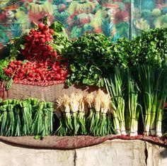 Freshly Iranian Herbs Visit Iran, Persian Culture, Iranian Food, World Market, Green Life, Soul Food, Deserts, Bazaars, Herbs