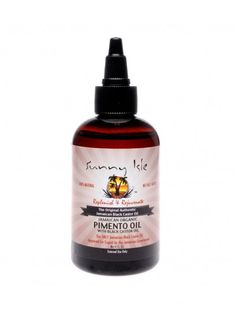Sunny Isle Jamaican Organic Pimento Oil with Black Castor Oil