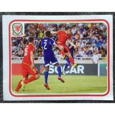 Football Soccer Sticker Panini UEFA Euro 2016 Campaign Cymru Wales #176