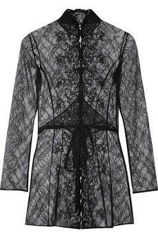 Agent Provocateur - Laretta embroidered lace robe. DesignerskorKläder För  KvinnorAgent Provocateur f34f40c86ebcc