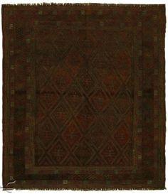 Central Asian Rug - Mushvari Carpet  Width106.00 cm (3,48 Feet) Lenght117.00 cm (3,84 Feet)