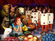 Wonderland in photo-graphics by Helena de Barros