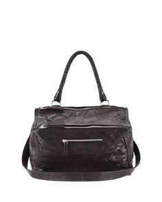 105c97212617 Givenchy Pandora Medium Leather Satchel Bag