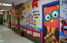 Who's Ready for Fall Classroom Door & Hallway decoration