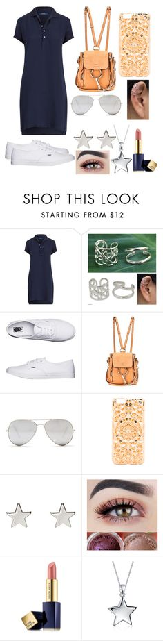 """""""Casual #31"""" by i-c-j ❤ liked on Polyvore featuring Ralph Lauren, NOVICA, Vans, Chloé, Sunny Rebel, Felony Case, Jennifer Meyer Jewelry, Estée Lauder, Bling Jewelry and tshirtdresses"""