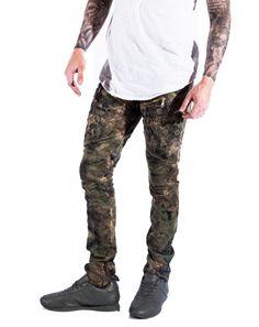 Army Camo Denim Pants