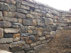 Easy DIY Retaining Wall Ideas ~ http://lovelybuilding.com/diy-retaining-wall-with-small-budget/