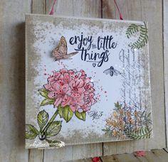 Enjoy the Little Things... | Rambling Rose Studio | Billie Moan